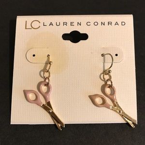 Lauren Conrad scissor earrings